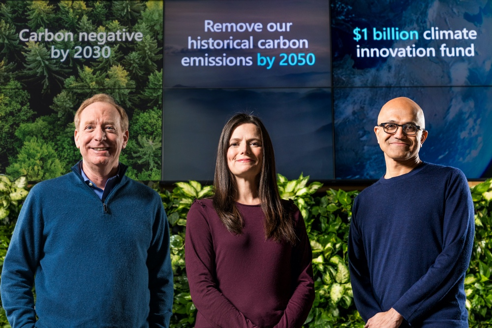 Microsoft goes beyond carbon neutrality, pledges to go carbon negative by 2030