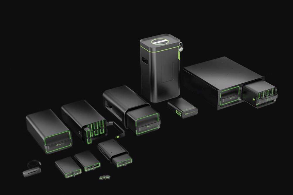 Seagate Lyve Drive modular storage system