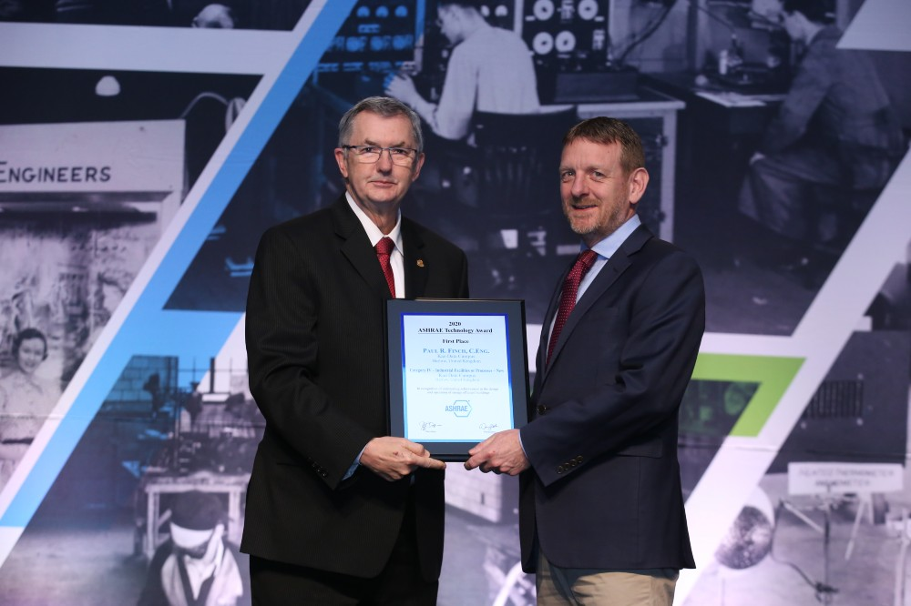 Kao Data wins ASHRAE Technology Award for 'Industrial Facilities and Processes'