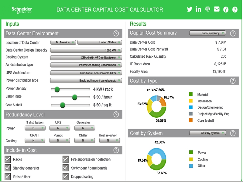 Schneider Electric Edge UPS Fleet Management Comparison Tool